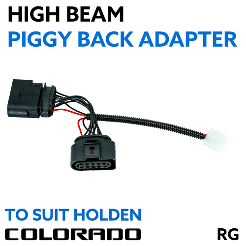 Holden Colorado & Trailblazer RG 2012-2020 High Beam  Piggy Back Adapter