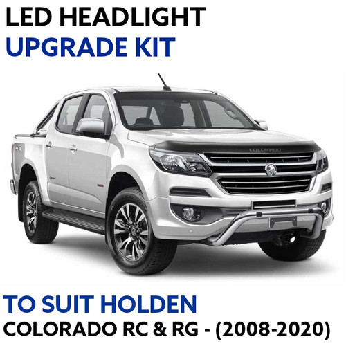LED Headlight Upgrade Kit for Holden Colorado RC & RG