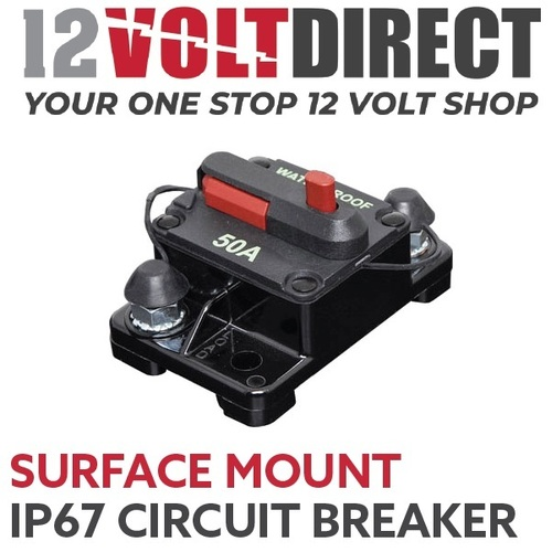 Surface Mount IP67 Waterproof Circuit Breaker