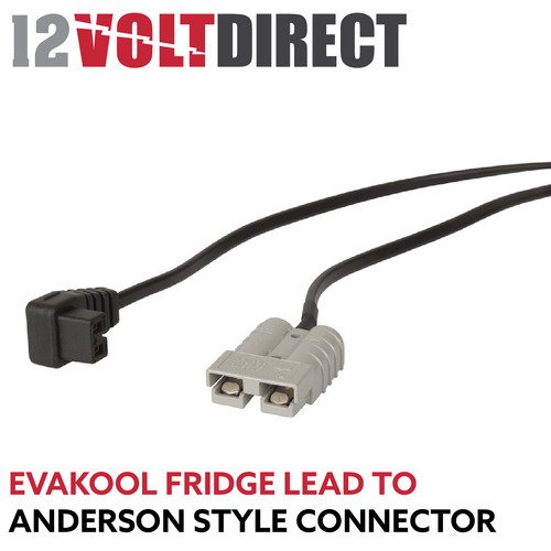 Evakool Fridge Cord to Anderson Plug Adapter Lead